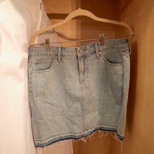Articles of Society denim skirt